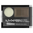 NYX Eyebrow Cake Powder, Taupe/Ash, .09 oz