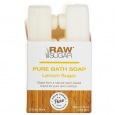 RAW Sugar Hard To Hold Lemon Pure Bath Soap - 2 Count