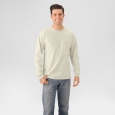 Fruit of The Loom Men's Long Sleeve T-Shirt - Light Beige Xxl