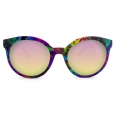 Women's Round Sunglasses - Purple