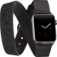 Case-mate - Rebecca Minkoff Double Wrap Watch Strap For Apple Watch 38mm - Black