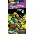 32ct Valentine's Day Teenage Mutant Ninja Turtles Scented Tattoos, Multi-Colored