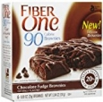 Fiber One 90 Calorie Brownie Fudge, 5.34 OZ (Pack of 12)