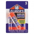 Elmer's School Glue Sticks 5ct - Disappearing Purple