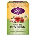 Yogi Herbal Green Tea Pomegranate 16 Tea Bags