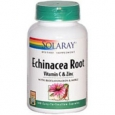 Solaray Echinacea Root with Vitamin C and Zinc 100 Capsules