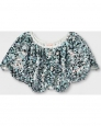 Girls' Sequin Cape Vest - Cat & Jack Aqua Xs-m