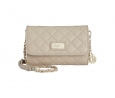 DKNY Small Flap Crossbody (Cement)