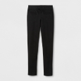 Girls' Ponte Fashion Pants - Cat & Jack Black XS