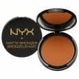 NYX Matte Bronzer for Face and Body, Medium, .33 oz