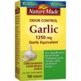 Nature Made Odor Control Garlic 1250 mg - 100 Tablets