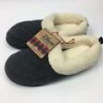 Womens Dluxe By Dearfoams® Cecilia Quilted Fleece Clog Slippers - Grey M 7/8