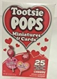 Tootsie Pops Miniatures & Cards Cherry