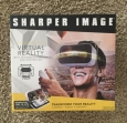 Sharper Image Vr Headset With Remote & Headphone