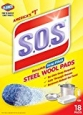 Clorox 18 Count S.O.S Steel Wool Soap Pads