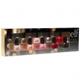 E.l.f 10 Piece Nail Polish Set Holiday 2017 Bnib Gift