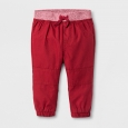 Baby Boys' Jogger Pants - Cat & Jack Red 3-6 M