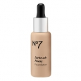 Boots No7 Airbrush Away Foundation, Warm Ivory, 1 oz