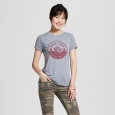 Women's Smokey the Bear Graphic Tee Gray L (Juniors')