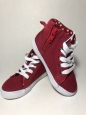 Cat & Jack Toddler Boy's Hardy Mid Top Canvas Sneakers Red Size 8