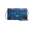 COACH CLUTCH IN PATCHWORK CROSSGRAIN LEATHER