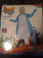 Fun World Beat Bugs Walter Toddler Costume Size Large 3t/4t Nip