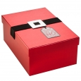 Red with Silver Buckle Gift Box Kit - Wondershop