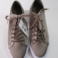 Mossimo Women's Pewter/jena Velvet Lace Sneakers - Size: 9