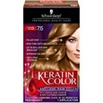 Schwarzkopf Keratin Hair Color, Caramel Blonde 7.5, 2.03 Ounce
