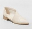 Women's Wenda Cut Out Booties - Universal Thread Ivory 6.5