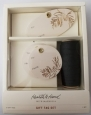 Hearth & Hand W/ Magnolia Pine Branch Leaf Gift Tag Set W/ Black Ribbon 8 Pieces