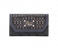 GUESS Park Lane Slim Clutch (Coal)