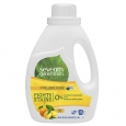 Seventh Generation Natural Liquid Laundry Detergent, 2X Concentrated, 33 Loads F