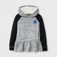 Girls' Pullover Sweatshirt - Cat & Jack Heather Gray XS