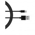 Usb-type C Single Usb - 2.0a Charging Cable- Black