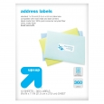 Recycled Address Labels 360ct - up & up, White