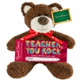 Russel Stover Teachers Valentines Bear and Milk Chocolate Bar 2oz