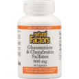 Natural Factors Glucosamine and Chondroitin Sulfates 900 mg - 60 Capsules
