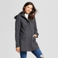 Women's Wool Duffle Coat - A Day Heather Gray M