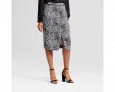 Who What Wear Women's Pencil Skirt - Snakeskin - Size: 2