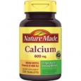 Nature Made Calcium with Vitamin D3 600 mg - 120 Tablets
