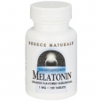 Melatonin Sublingual Orange 1 MG 100 Tablets