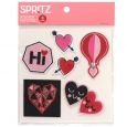 Valentine's Sticker Patches 6ct - Spritz