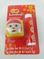 Lip Balms Kaomoji Balms Santa Claus Cherry Pom Frosted Mint 2 Pack