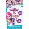 20ct Valentine's Day My Little Pony Stickers Treat, Multi-Colored
