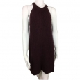 Women's High Neck Sweater Dress - Xhilaration (juniors') Plum S