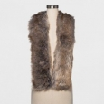 Women's Faux Fur Stole - A Day Gray/brown