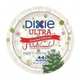 "Dixie Ultra 7"" Be Merry Holiday Plates - 44ct"