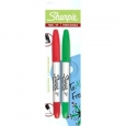 Sharpie 2-Pack Red/Green Twin Tip Permanent Markers