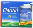 Claritin 24 Hour Non Drowsy Allergy Tablet, 70 Count